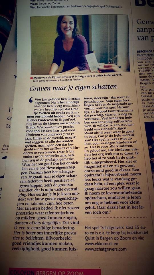 BN de Stem regio Bergen op Zoom 13 november 2014
