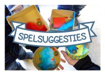 A-Spelsuggesties-knop